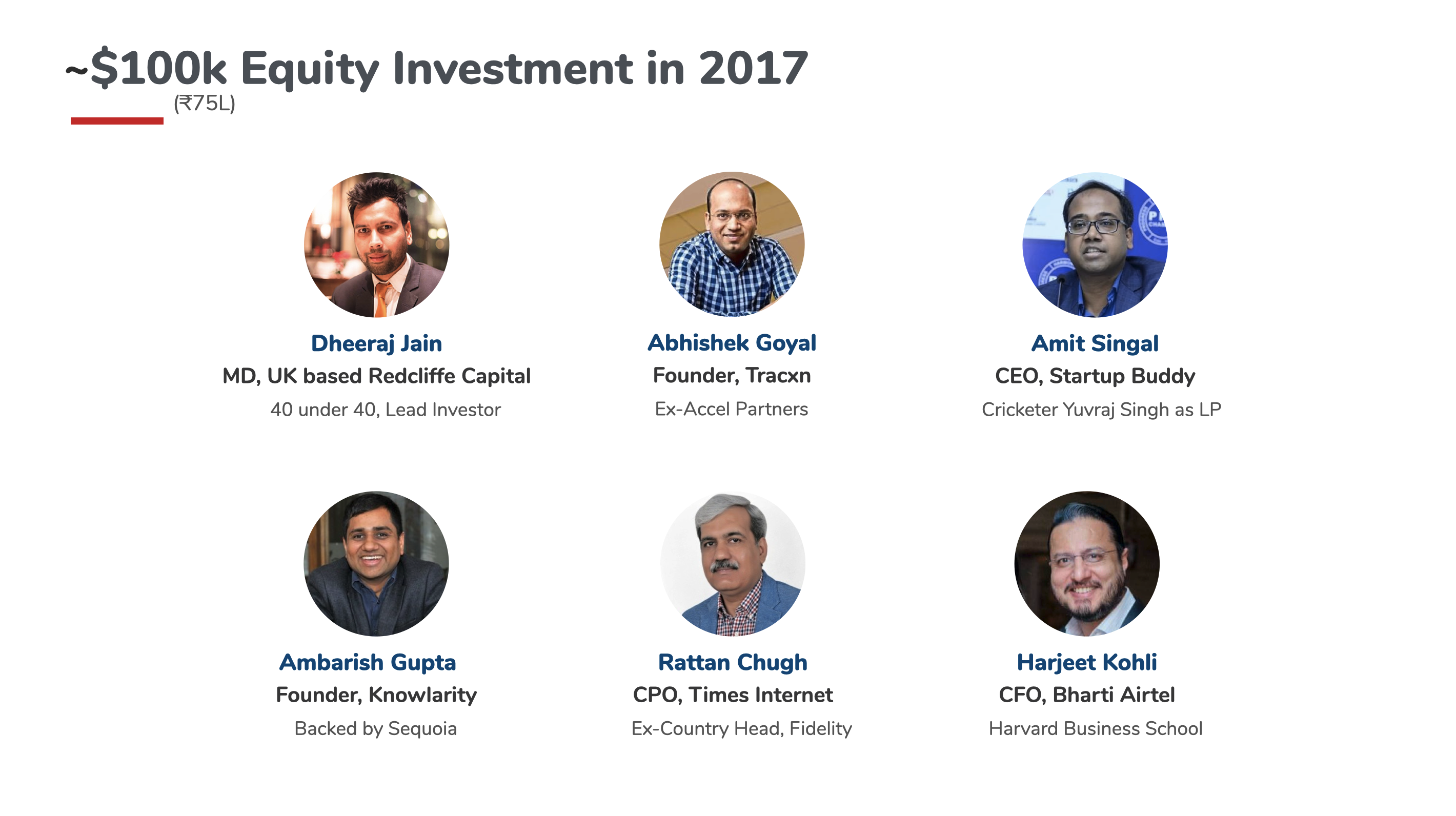 2017 Investors