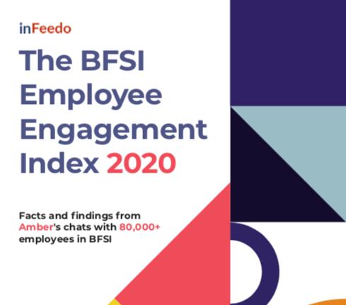 employee engagement statistics, BFSI, 2020